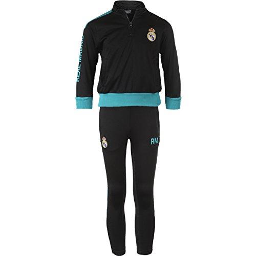 Real Madrid Rma-se-8001 - Survêtement - Mixte Enfant - Noir