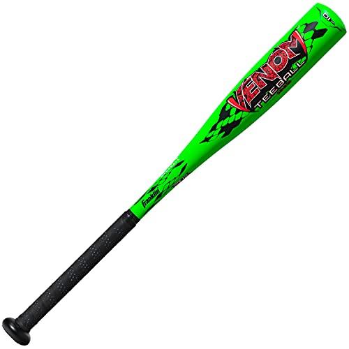 Franklin Sports Aluminum Kids Youth Baseball and Teeball Bats