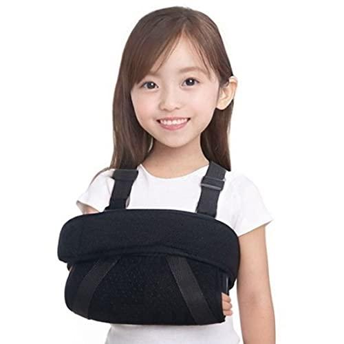 RICHAIR 子供用 腕つりサポーター アームホルダー アームリーダー 三角巾 アームスリング 腕スリング 両肩ショルダーバンド設計 通気性 軽量素材 左右兼用 (8−12才用)