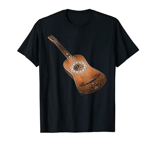 Guitarra acústica de seis cuerdas Classic Rock & Roll diseño Camiseta