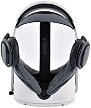 MYJK Clip On VR Headphones Accessories for Oculus Quest 2 Headset- Improved Sound Quality with Stereo and Bass - Fit only Stock Strap and Elite Strap - NOT Fit Third Party Straps(for Quest 2)