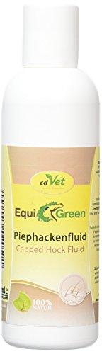cdVet Naturprodukte EquiGreen Piephackenfluid 200 ml - Pferd - Pflegemittel - Rückbildung - Schwellung -  Sprunggelenk - Kräutertinktur - pflegend + vitalisierend - Regeneration - 100% natürlich -