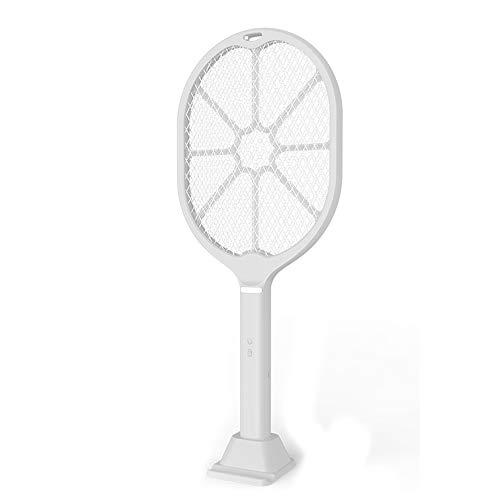 Elektrische Fliegenklatsche Fliegenfänger Moskito Insektenvernichter USB Wiederaufladbare Fly Racket 3 Schicht Mesh Schutz für Drinnen Draußen