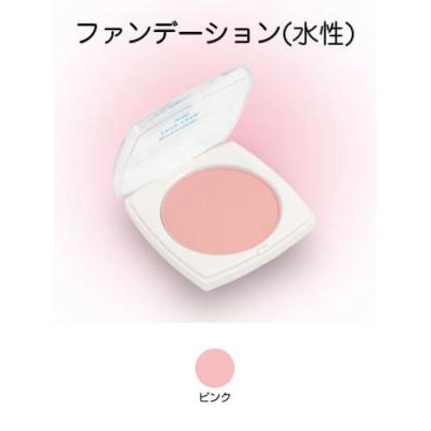キャンバス警察署伝導フェースケーキ ミニ 17g ピンク 【三善】
