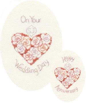 Derwentwater Designs de mariage ou anniversaire Kit Carte