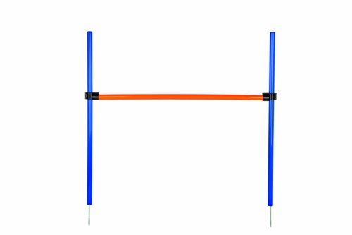Trixie 3207 Dog Activity Agility Hürde, Kunststoff, 123 × 115 cm, ø 3 cm, blau/orange
