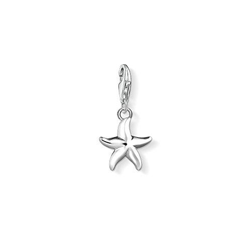 THOMAS SABO Damen-Charm-Anhänger Seestern Charm Club 925 Sterling Silber 1522-001-21