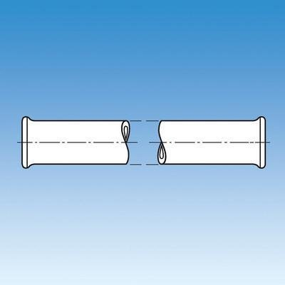 ACE Cheap sale Tulsa Mall Glass 8828-260 Process Pipe Inside Diameter Length 108