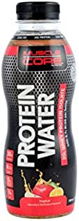 MUSCLE CORE NUTRITION Protein Water Tropical, 500 ml