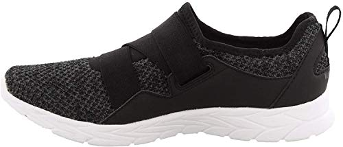 Vionic Women's Brisk Aimmy Walking Shoes - Ladies Athleisure Shoe with Concealed Orthotic Arch Support Black 10 Wide US