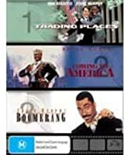 EDDIE MURPHY 3 MOVIE BOX SET (TRADING PLACES / COMING TO AMERICA / BOOMERANG) [PAL/REGION 4 DVD. Import-Australia]