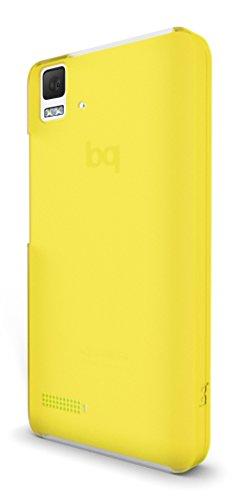 BQ Cristal - Funda Aquaris E4, Amarillo