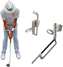 Jolly Golf Swing Trainer. Patented Golf Training Aid to Improve The Practice of Putting, Chipping and Pitching. for Mid to Low Handicap Golfers. Right-Handed.