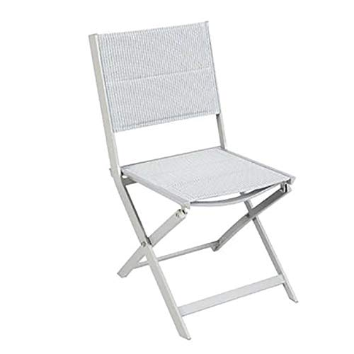 Hespéride Chaise Pliante Allure Orage Ray/Silver
