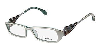 Koali By Morel 6922k Womens/Ladies Designer Full-rim Color Combination Fashionable Eyeglasses/Glasses  51-15-135 White/Brown / Teal