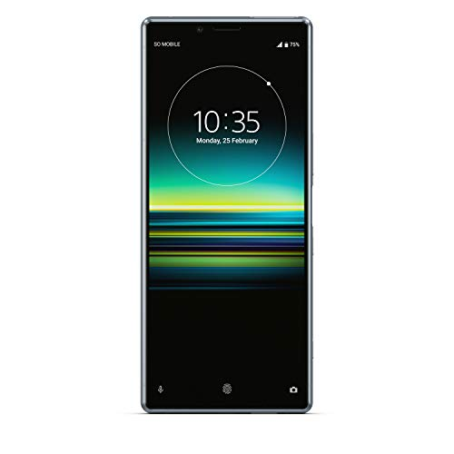 Sony Xperia 1 128 GB Smartphone (16, 5 cm (6, 5 Zoll) OLED Display, Triple-Kamera, IP65/IP68, 6 GB RAM, Android 9) Grau