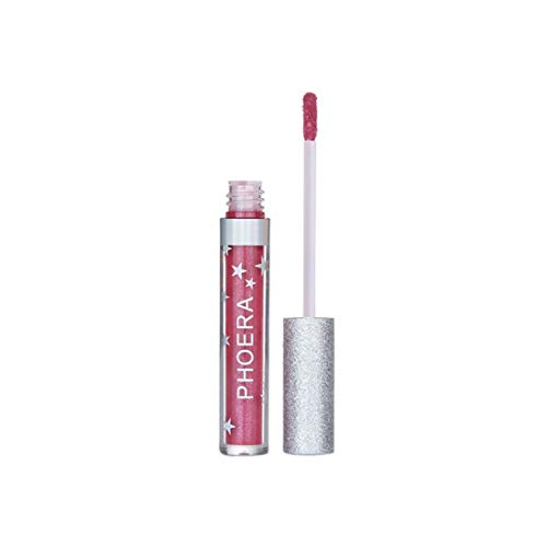 Toamen Mode Femmes Longue Durée Hydratant Rouge À Lèvres Imperméable Mat Liquide Velours Mat Brillant À Lèvres Maquillage