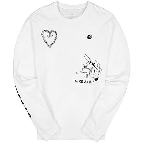 Nike Herren CK2983-100 Bluse, weiß, M