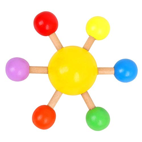 Fidget Toys, autismo Ansiedad alivia el estrés, juguete de juguete colorido giroscopio de madera para aliviar el estrés, juguetes sensoriales,juguetes de descompresión para niños y adultos