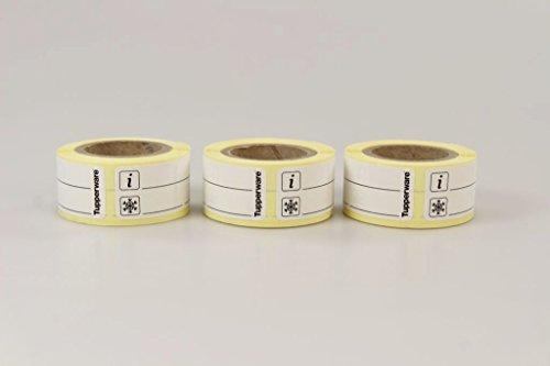 TUPPERWARE Gefrier-Etiketten E33 Rolle mit 100 Gefrieretiketten schwarz (3) 15470