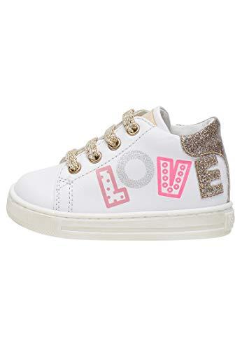 Falcotto IMSA-Sneaker mit Print und Glitter-Weiß weiß 26