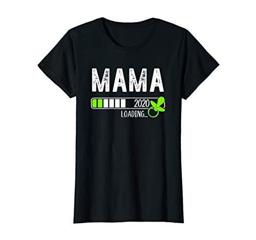 Damen Mama Loading 2020 I Werdende Mutter T-Shirt