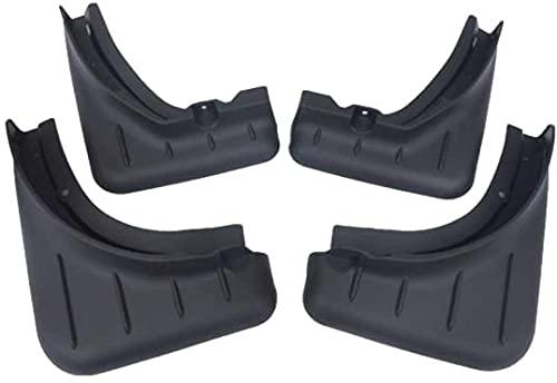 JUIO Guardabarros para coche con aleta delantera para guardabarros trasero, accesorios para Porsche Cayenne 2018-2020 (color predeterminado)