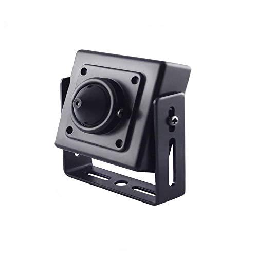 Nightking Interior 1080P 2.4MP Mini cámara de seguridad espía de agujero, 4 en 1 TVI/AHD/CVI/960H cámara de seguridad oculta ATM, lente de 3.7 mm, cable conmutable de inmersión, UTC