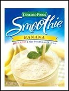 Banana Smoothie Mix / Concord Foods 2 oz/ (Pack of 3)