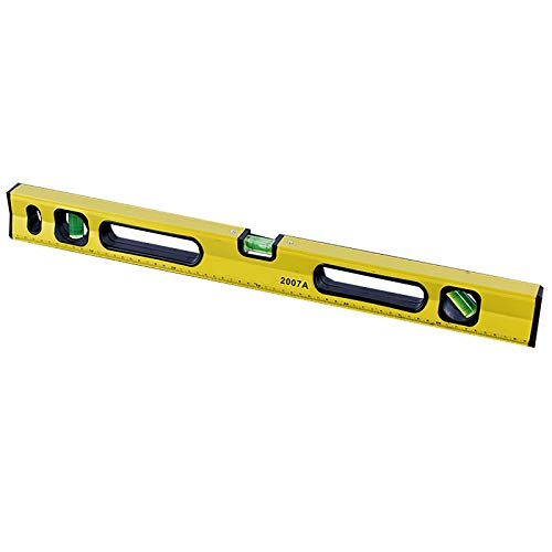 Box Level, 12 Inch Magnetic Level Ruler, Aluminum Alloy Leveler Torpedo Level, 3 Different Bubbles/45°/90°/180°Measuring, Shock Resistant Waterproof