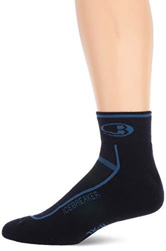 Icebreaker Merino Mini chaussettes légères en laine mérinos pour homme XL bleu marine