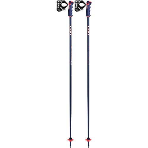 Leki Spitfire S Palos de esquí, Unisex Adulto, Azul, 110 cm