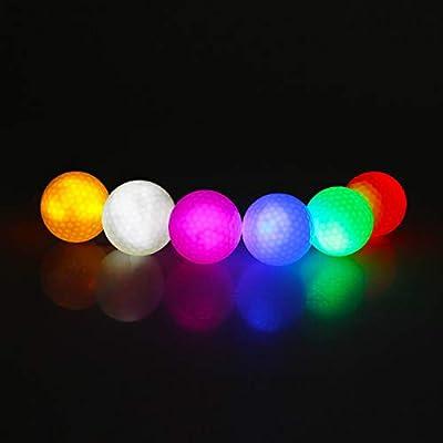 Pack bolas golf LED