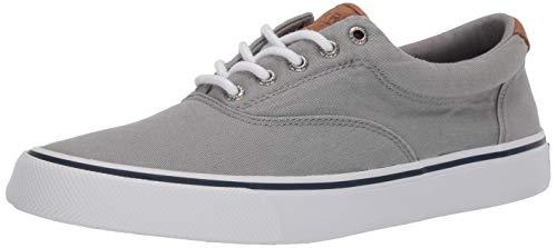 Sperry mens Striper Ii Cvo Core Sneaker, Salt Washed Grey, 11.5 US