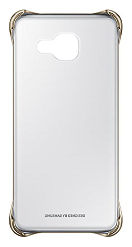 Samsung Clear Cover EF-QA310 für Galaxy A3 (2016), gold
