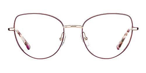 Etnia Barcelona CATANIA PKBX- Gafas de metal dorado y cobre - lila