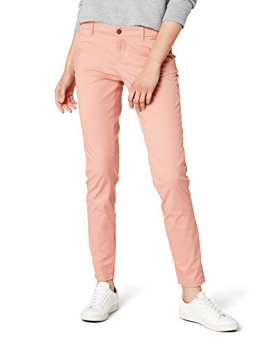 ONLY Damen Chino Hose onlPARIS LOW SKINNY CHINO PANTS PNT NOOS, Rosa (Rose Dawn), W36/L32