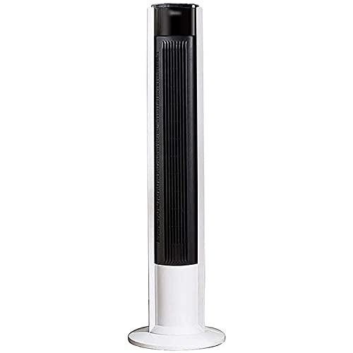 cx-kzw Turmventilator Bodenlüfter Kein Klingenventilator Silent Vertikallüfter Kein Klingenventilator (Farbe: Weiß, Größe: 32,5 * 32,5 * 105 cm)