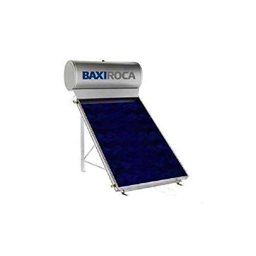 Placa solar térmica, compacto por termosifón, serie STS 150, 150 litros de capacidad útil, montaje en cubierta plana y tejado, 135 x 160 x 187 centímetros (Referencia: 720352701)