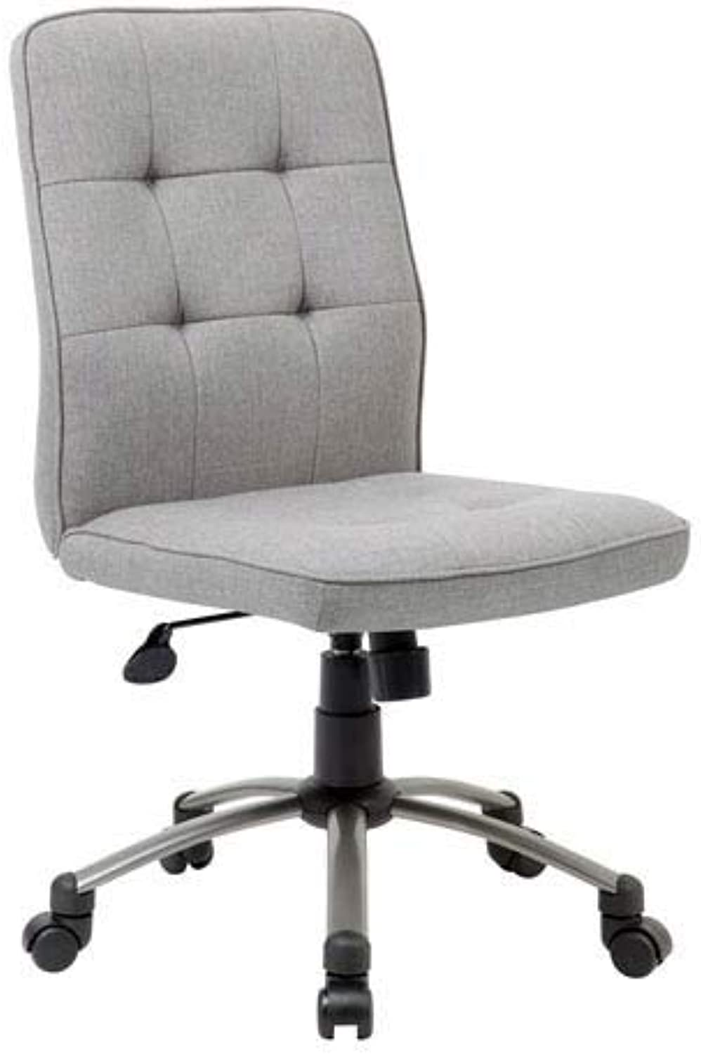Boss Office Products (BOSXK) 1 Ergonomic Office Chair, Fabric, Taupe
