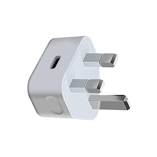 Enchufe rápido del cargador de 20W PD, enchufe del cargador del tipo C, adaptador del cargador directo de la pared del USB C rápido para el iPhone 12 Pro Max/12 Pro/12 Mini/11 Pro Max etc
