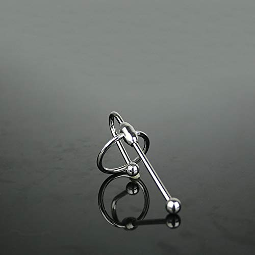 LBBDrrAL Sólido Acero Inoxidable Cathêtêr Màssàger, AD  LT'S Hombre Exquisito Cuidado Personal para U-R-ê-TH-Ràl M  -SCLE, Juguetes Jeans (Size : L/30mm)