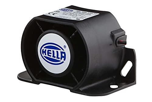 HELLA 3SL 996 139-101 Rückfahrwarner - 107dB(A) - Frequenzbereich: 1300Hz - geschraubt - Kabel: 171mm - Stecker: offene Kabelenden - Menge: 1