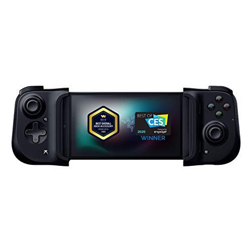 Razer Kishi Mobile Game Controller / Gamepad for Xbox Android USB-C: Game Pass Ultimate, xCloud, Cloud Gaming - Passthrough Charging - Low Latency Phone Controller Grip - Samsung, Pixel, & more