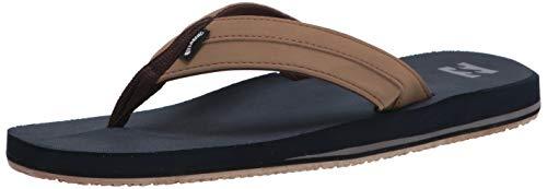Billabong Men's All Day Impact Supreme Cushion Eva Footbed Sandal Flip Flop, Navy, 13