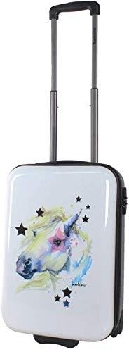 Saxoline Handgepäck Kinder Reise Koffer Trolley Horse Pferd 52 cm bei Bowatex