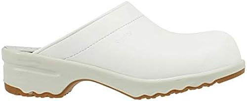 Sanita 818046 Modèle Modèle 1080 Duty Nitril Clog, bout ouvert, Blanc, 46  pas cher et de la mode