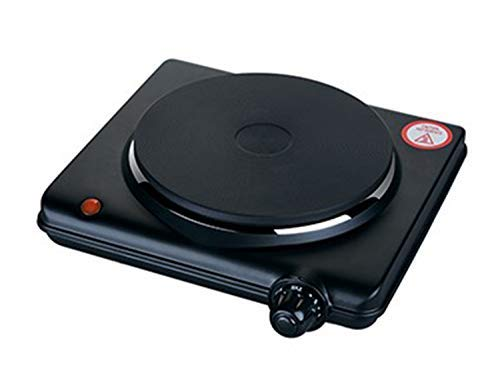 Lowest Prices! 1000W ELECTRIC SINGLE HOT PLATE (black)