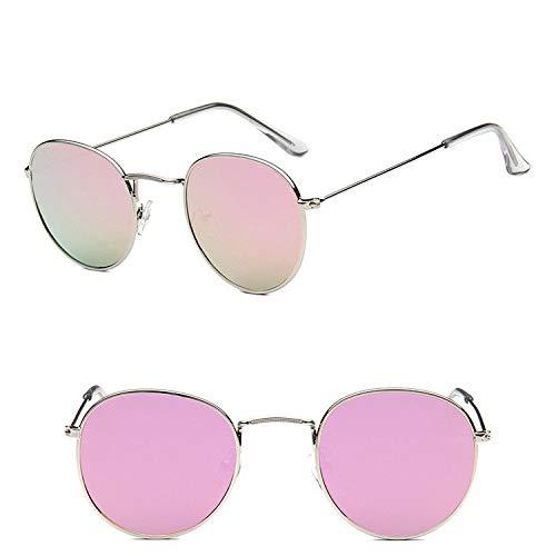 des Lunettes de Soleil Sunglasses Lunettes De Soleil Classiques Ovales Vintage Femmes/Hommes Lunettes Uv400 Silverpink