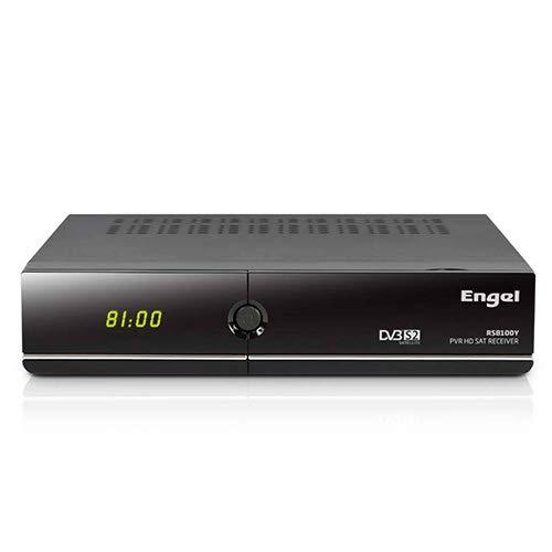Engel RS8100Y - Receptor TV satélite HD PVR con WiFi, Negro (Electrónica)
